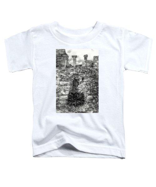 Nestle Rock B/w Toddler T-Shirt