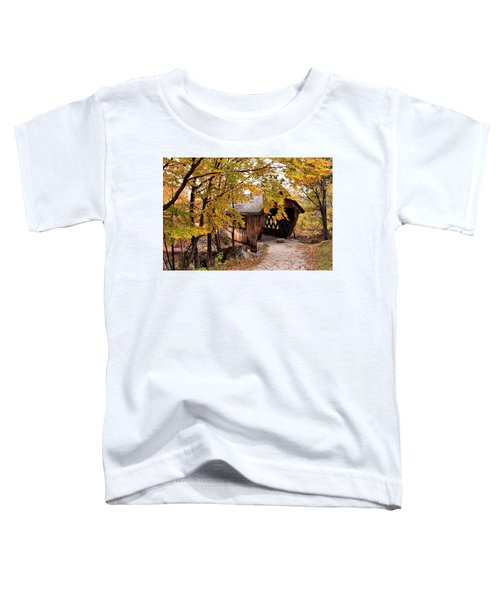 New England College No. 63 Covered Bridge  Toddler T-Shirt