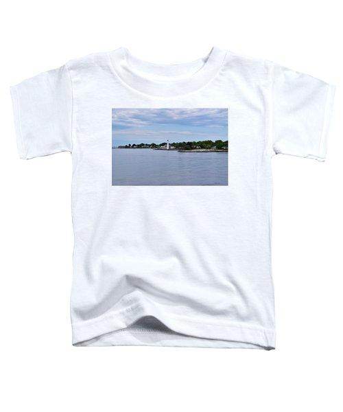 New London Harbor Lighthouse Toddler T-Shirt