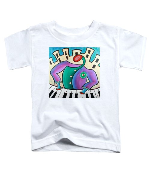 New Orleans Cool Jazz Piano Toddler T-Shirt