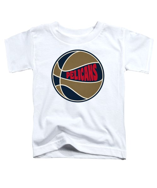 New Orleans Pelicans Retro Shirt Toddler T-Shirt