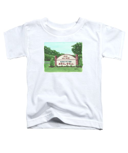 New River Welcome Toddler T-Shirt