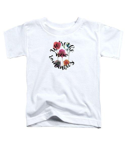 New Romantics Toddler T-Shirt by Patricia Abreu