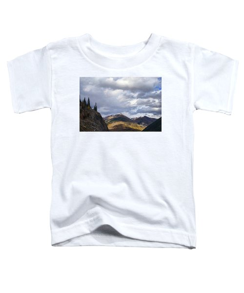 Peeking At The Peaks Toddler T-Shirt