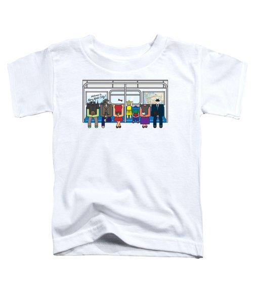 Subway Series Toddler T-Shirt