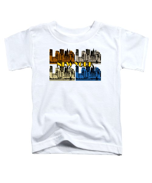 New York 4 Color Toddler T-Shirt