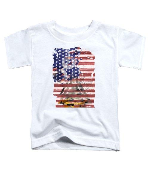 New York City Geometric Mix No. 8 Toddler T-Shirt