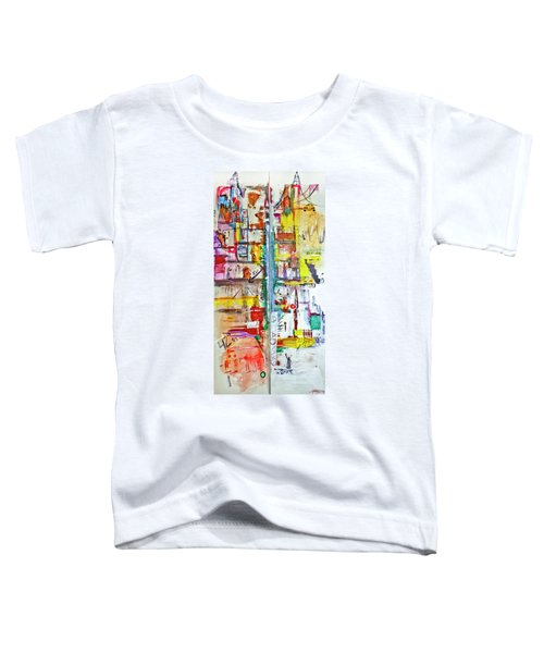 New York City Icons And Symbols Toddler T-Shirt