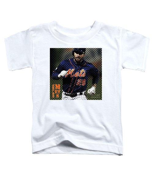 New York Mets Dots News Toddler T-Shirt