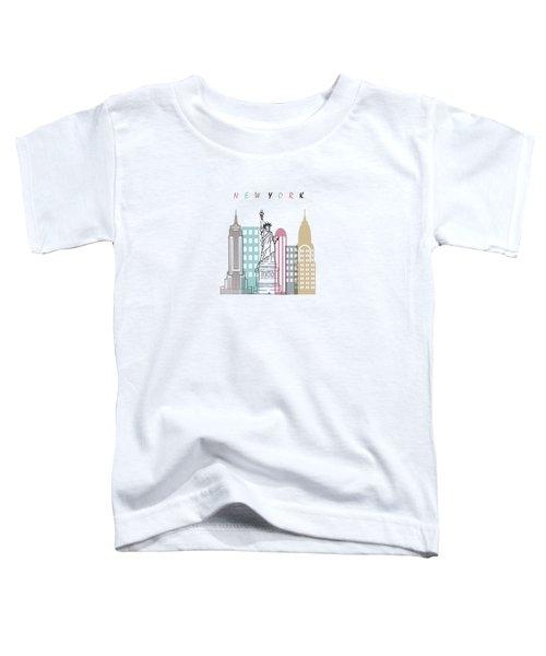 New York  Minimal  Toddler T-Shirt