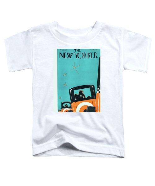 New Yorker December 5 1925 Toddler T-Shirt