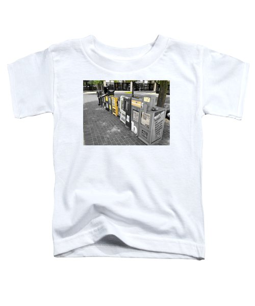 Newspaper Boxes Toddler T-Shirt