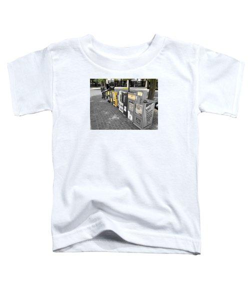 Newspaper Boxes Toddler T-Shirt