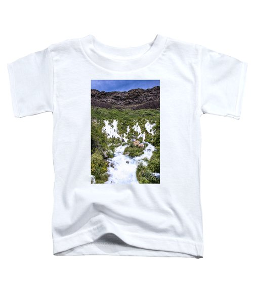 Niagra Springs Idaho Journey Landscape Photography By Kaylyn Franks  Toddler T-Shirt