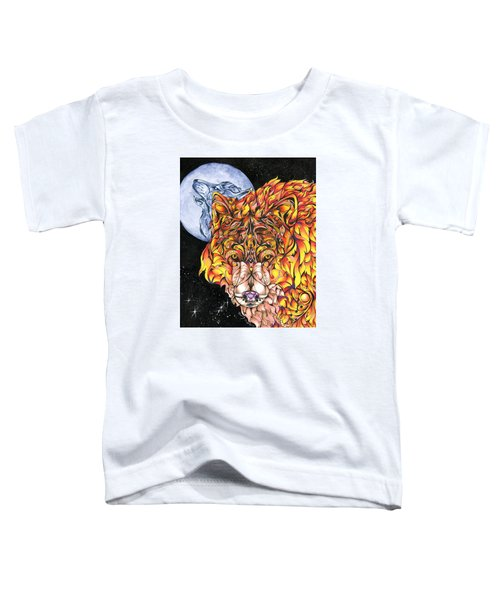 Night Fire Toddler T-Shirt