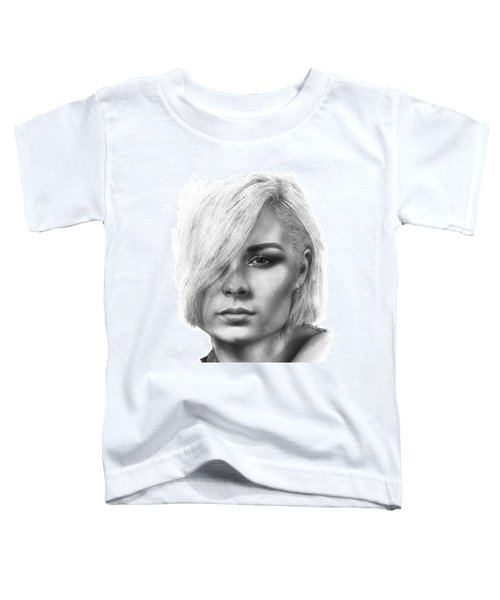 Nina Nesbitt Drawing By Sofia Furniel Toddler T-Shirt