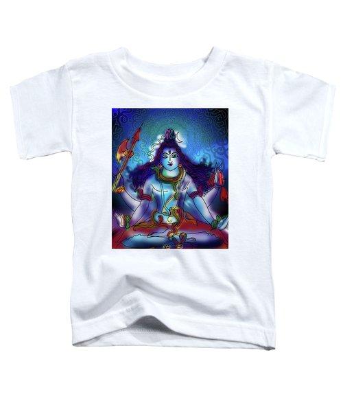 Nirvikalp Samadhi Kapali Shiva Toddler T-Shirt