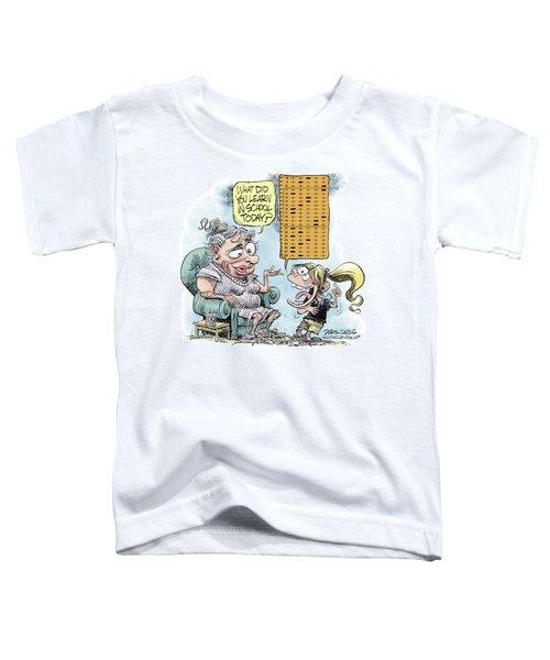 No Child Left Behind Testing Toddler T-Shirt