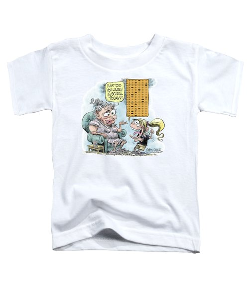 No Child Left Behind Testing Toddler T-Shirt