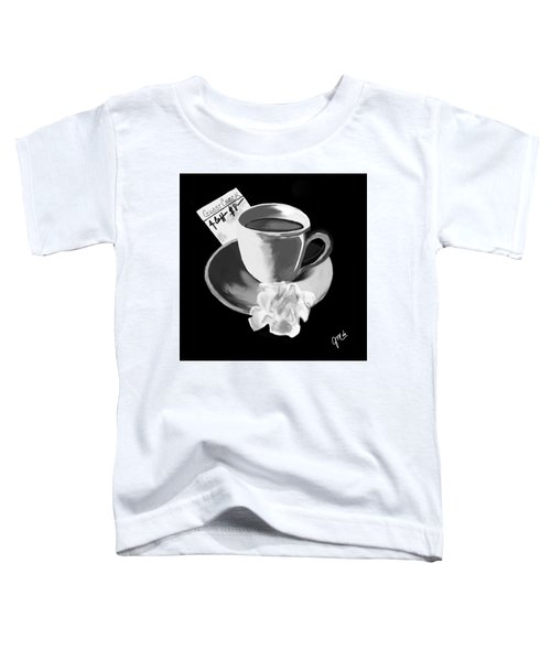 Toddler T-Shirt featuring the digital art No Show I by Gerry Morgan