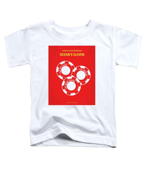 No056 My Oceans 11 Minimal Movie Poster Toddler T-Shirt