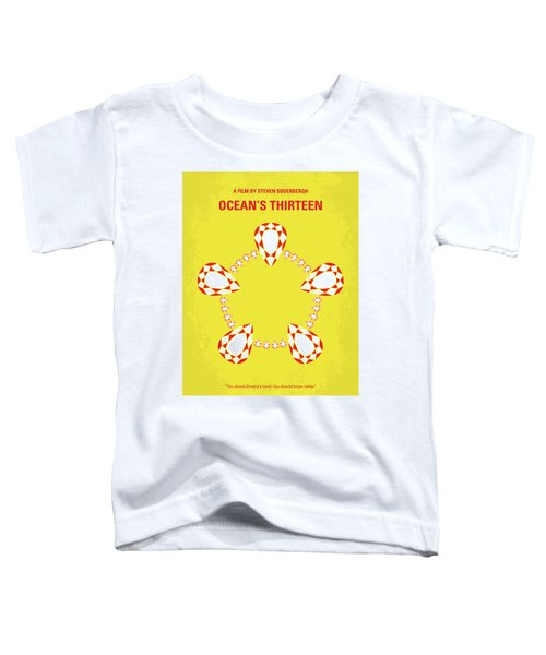 No706 My Oceans 13 Minimal Movie Poster Toddler T-Shirt
