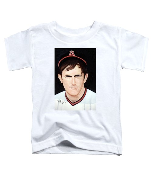 Nolan Ryan With The Angels Toddler T-Shirt