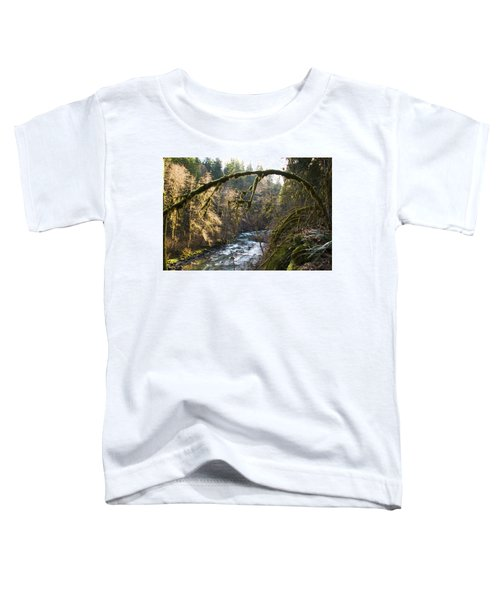 Toddler T-Shirt featuring the photograph Nooksack River by Yulia Kazansky