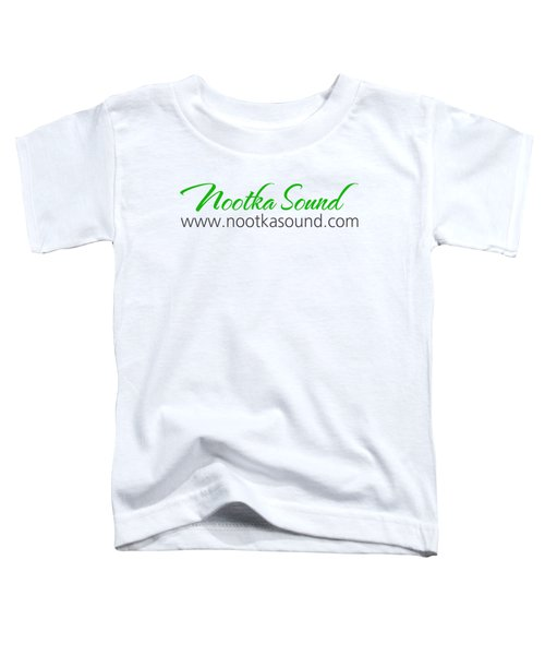 Nootka Sound Logo #10 Toddler T-Shirt by Nootka Sound