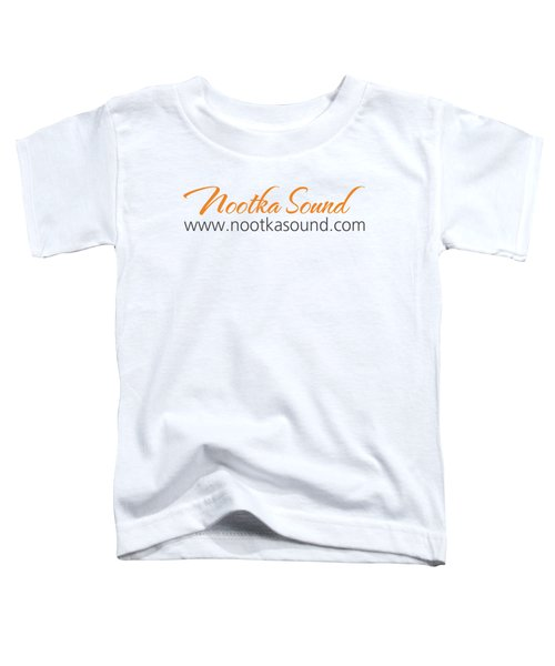 Nootka Sound Logo #12 Toddler T-Shirt by Nootka Sound