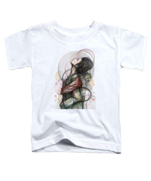 Beautiful Lady Toddler T-Shirt