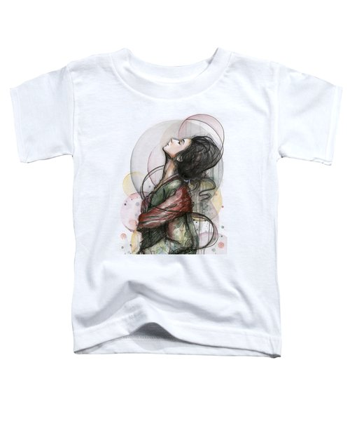 Beautiful Lady Toddler T-Shirt