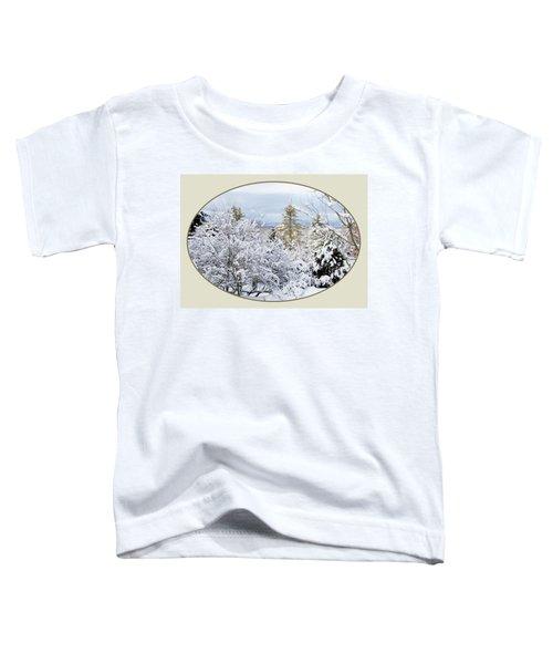 northeast USA photography button Toddler T-Shirt