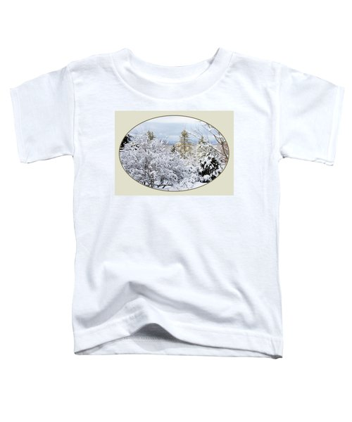 northeast USA photography button Toddler T-Shirt
