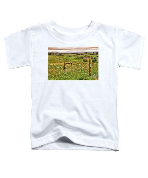 Northumberland Landscape Toddler T-Shirt