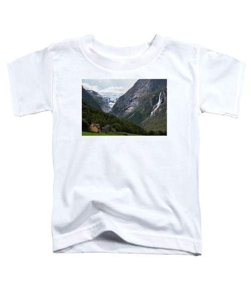 Norway Glacier Jostedalsbreen Toddler T-Shirt