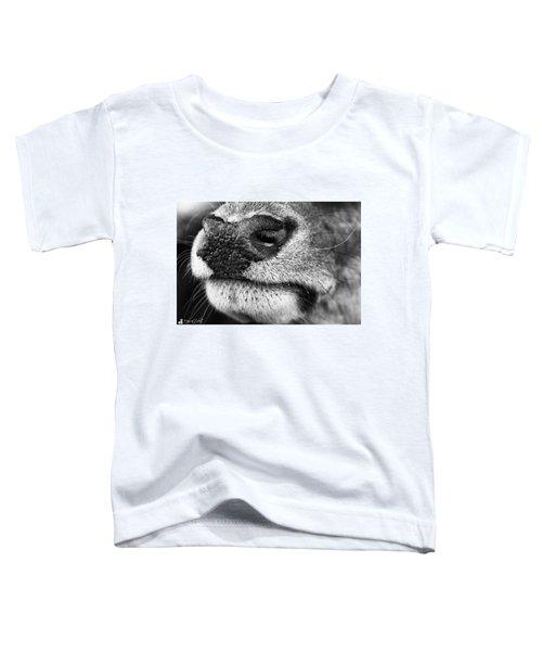 Nosy Nose  #monochrome #canon Toddler T-Shirt