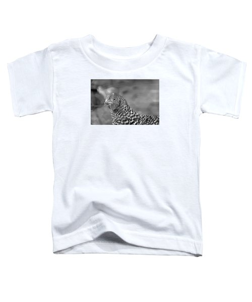 Toddler T-Shirt featuring the photograph Not Your Chicken Dinner by Lora Lee Chapman