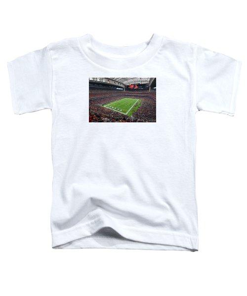Nrg Stadium - Houston Texans  Toddler T-Shirt