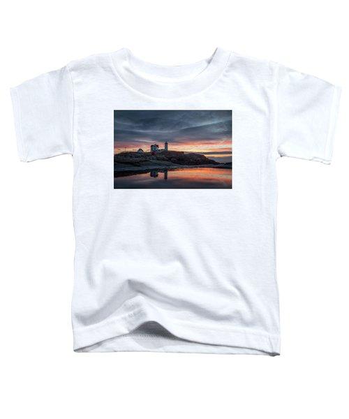 Nubble Sunrise Reflection Toddler T-Shirt