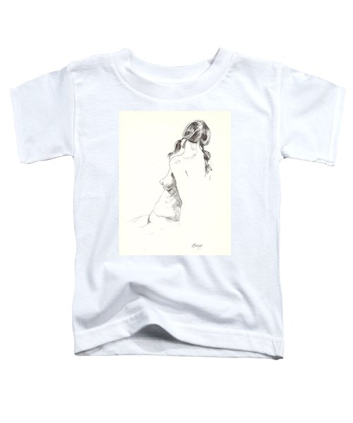 Nude 9 Toddler T-Shirt