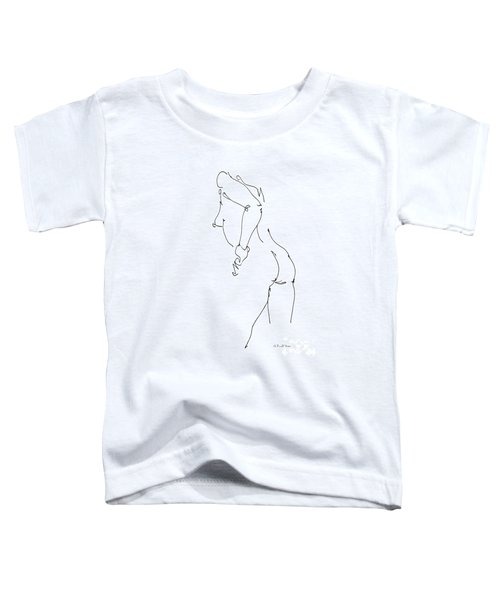 Nude Female Drawings 11 Toddler T-Shirt
