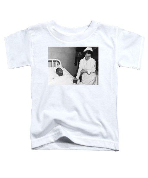 Nurse Taking Man's Pulse Toddler T-Shirt