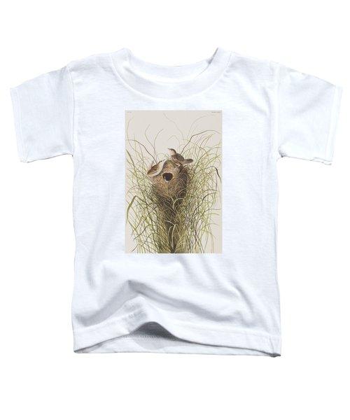 Nuttall's Lesser-marsh Wren  Toddler T-Shirt