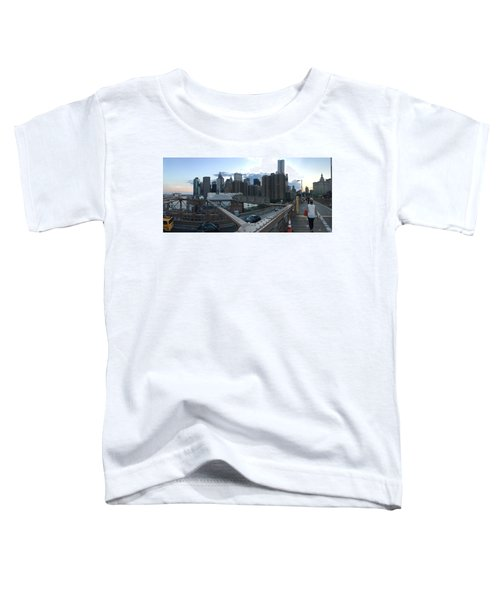 NYC Toddler T-Shirt by Ashley Torres