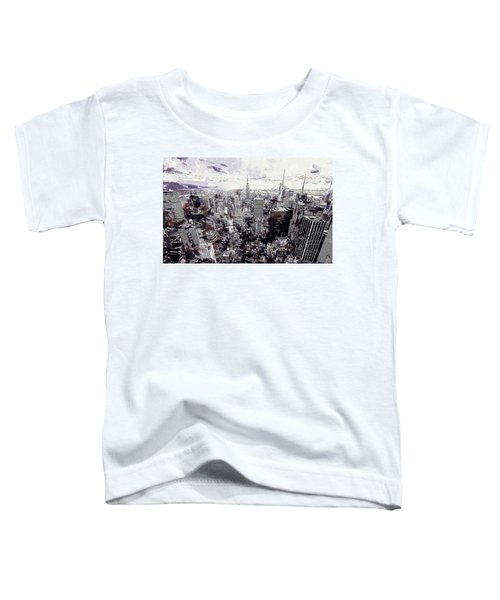 Nyc View From Rockefeller Center Toddler T-Shirt