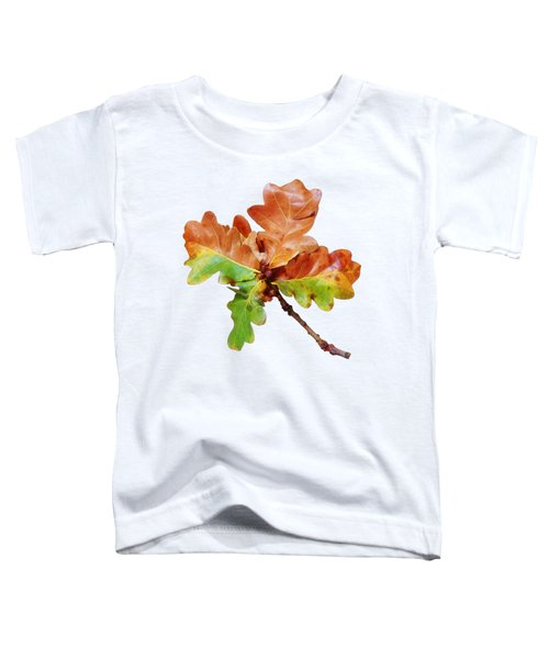 Oak Leaves Autumn Glow Toddler T-Shirt