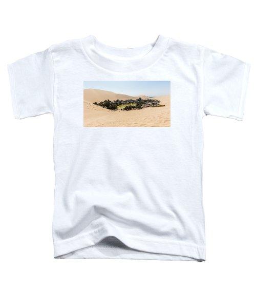 Oasis De Huacachina Toddler T-Shirt
