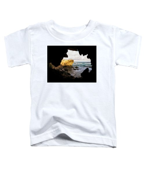 Oceanfront Cave Toddler T-Shirt