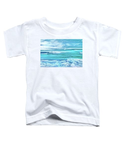 Oceans Of Teal Toddler T-Shirt